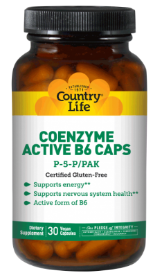 Image of Coenzyme Active B6 Caps P-5-P 50 mg