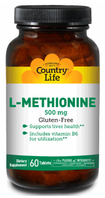 Image of L-Methionine 500 mg with B6 Tablet