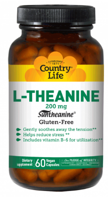 Image of L-Theanine 200 mg with B6