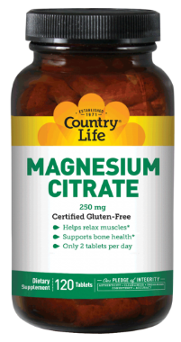 Image of Magnesium Citrate 250 mg