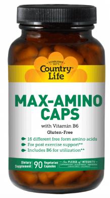 Image of Max-Amino Caps with B6