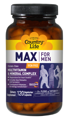 Image of MAX for MEN Multivitamin & Minerals Complex Capsule