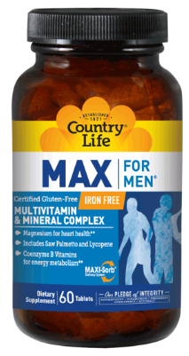 Image of MAX for MEN Multivitamin & Minerals Complex Tablet