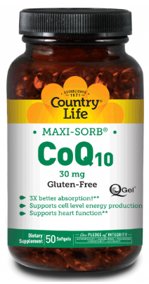 Image of CoQ10 30 mg Maxi-Sorb Softgel