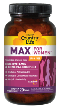 Image of MAX for Women Multivitamin & Minerals Complex with Iron Tablet