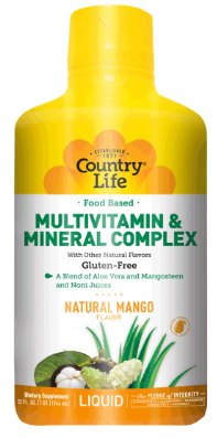 Image of Multivitamin & Mineral Complex Liquid Mango