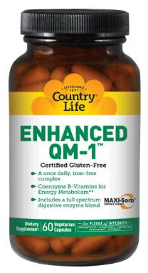 Image of Enhanced QM-1 Multiviamin One Daily Iron Free