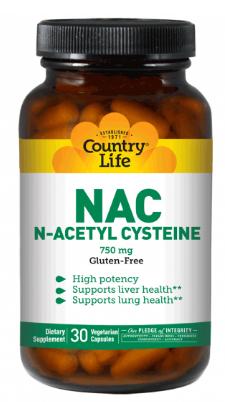 Image of NAC N-Acetyl Cysteine 750 mg