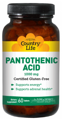 Image of Pantothenic Acid 1000 mg