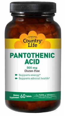 Image of Pantothenic Acid 500 mg