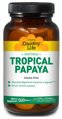 Image of Papaya Enzyme Chewable Natural Tropical