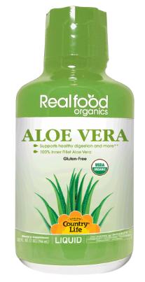 Image of Real Food Organics Aloe Vera Liquid (Inner Fillet)