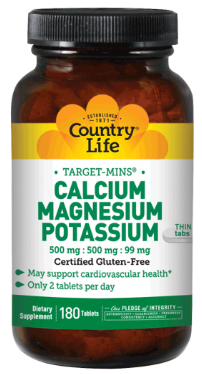 Image of Calcium Magnesium Potassium 250/250/49.5 mg