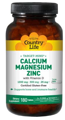 Image of Calcium Magnesium Zinc with Vitamin D 333/166/8 mg 66 IU