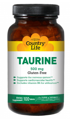 Image of Taurine 500 mg with B6