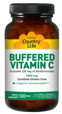 Image of Vitamin C 1000 mg with Rose Hips & Bioflavonoids Buffered
