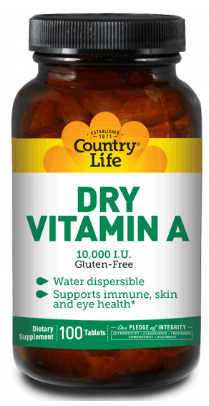 Image of Vitamin A 10,000 IU Dry