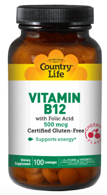 Image of Vitamin B12 500 mcg Sublingual Cherry