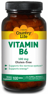 Image of Vitamin B6 100 mg