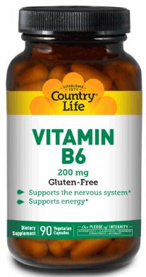Image of Vitamin B6 200 mg