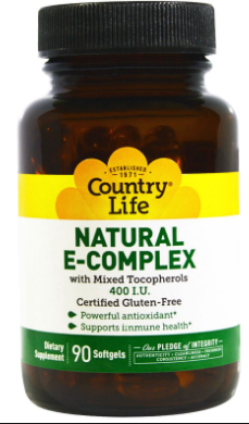 Image of Vitamin E Complex 400 IU Natural (Mixed Tocopherols)