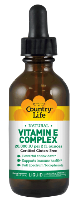 Image of Vitamin E Complex Natural Liquid 240 IU