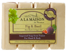 Image of Bar Soap Fig & Basil Value Pack