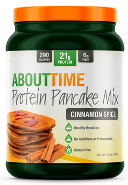 Image of Protein Pancake Mix Powder Cinnamon Spice