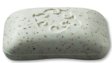 Image of Loofa Soap Bar Mint