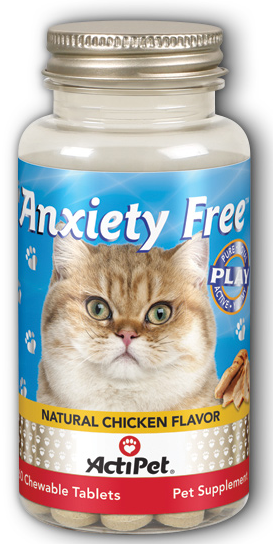 Image of Anxiety Free for Cats Chewable Chicken