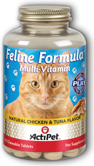 Image of Feline Formula Multivitamin Chewable Chicken & Tuna