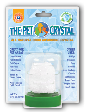 Image of The Pet Crystal (Odor Absorbing Crystal)