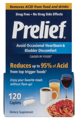 Image of Prelief Acid Relief Tablets