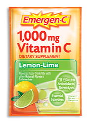 Image of Emergen-C Powder Packet Lemon Lime