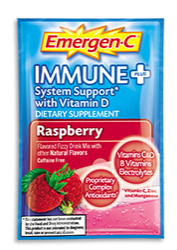 Image of Emergen-C Immune+ Powder Packet Raspberry