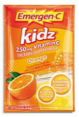 Image of Emergen-C Kidz Powder Packet Orange