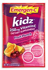 Image of Emergen-C Kidz Powder Packet Fruit Punch