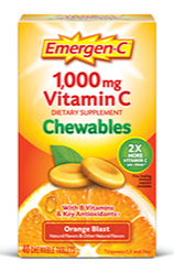 Image of Emergen-C Chewable Orange Blast