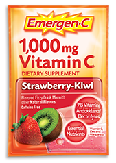 Image of Emergen-C Powder Packet Strawberry-Kiwi