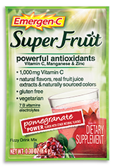 Image of Emergen-C Super Fruit Powder Packet Pomegranate Power