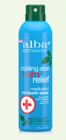 Image of Sun Care Cooling Aloe Burn Relief Spray (medicated)