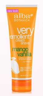 Image of Very Emollient Shave Cream Mango Vanilla