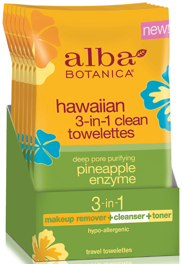Image of Hawaiian 3-in-1 Clean Towelettes