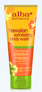 Image of Hawaiian Body Wash Exfoliating Papaya Mango