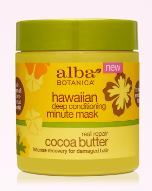 Image of Hawaiian Deep Conditioning Minute Mask Cocoa Butter (dry, damged hair)