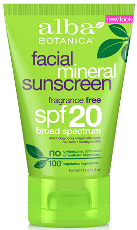 Image of Sun Care Sunscreen Facial Mineral SPF 20