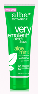 Image of Very Emollient Shave Cream Aloe Mint