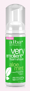 Image of Very Emollient Shave Foam Aloe Mint